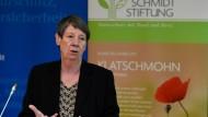 Umweltministerin Barbara Hendricks sieht ihren Klimaschutzplan bedroht.