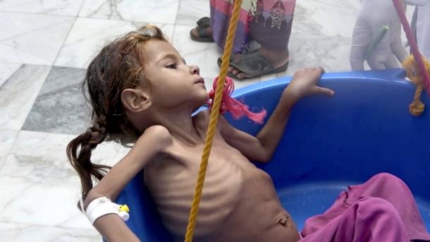 Krieg im Jemen: UN warnen vor Verschärfung der Hungersnot