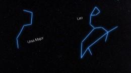 Planetensystem im Sternzeichen Jungfrau