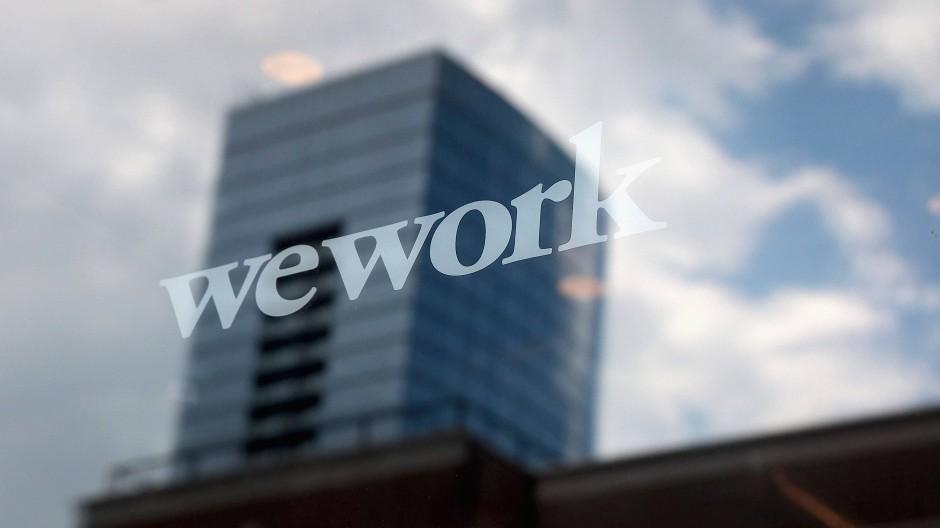 Ein Wework-Büro in Illinois