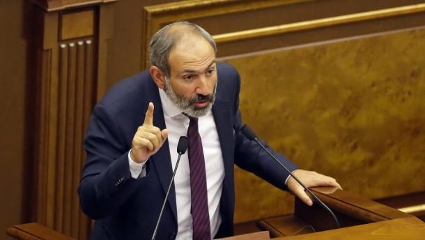 Armeniens Oppositionsführer verfehlt Parlamentsmehrheit