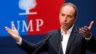 """Der UMP-Vorsitzende Jean-Francois Copé: """"Meine Legitimität an der Parteispitze ist bestätigt worden"""""""