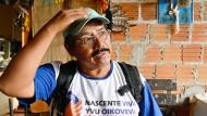"""Cajetano Vera, Lehrer """"Bei mir steht Biologische Vielfalt auf der Kappe."""""""