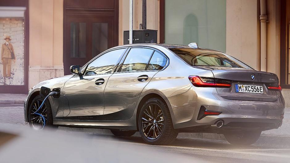 Randerscheinung: BMW promoviert den Plug-In-Hybrid als Zukunftsmodell.