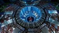 """Er sah das Higgs-Boson - und danach nichts mehr Neues: Der gewaltige """"CMS""""-Detektor am Large Hadron Collider des Forschungszentrums Cern bei Genf."""
