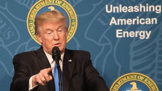 """Trump: """"Goldene Ära"""" der Energie"""