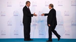 Erdogans historische Russland-Reise