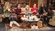 """Sie haben auch der Computer-Nerd-Kultur größere Popularität gebracht: Die Figuren aus der Erfolgsserie """"The Big Bang Theory""""."""