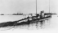 Das deutsche U-Boot 139, undatiertes Archivbild