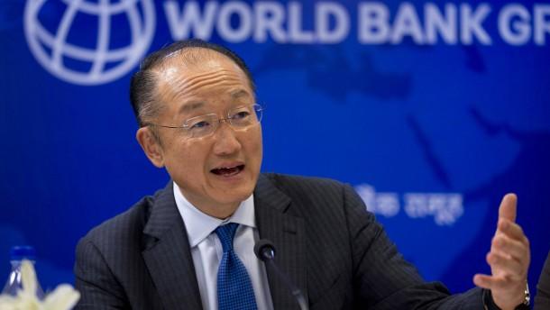 Jim Yong Kim kandidiert für zweite Amtszeit