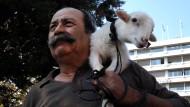 In dieser Woche hatten die Bauern in Athen gegen Reformen demonstriert.