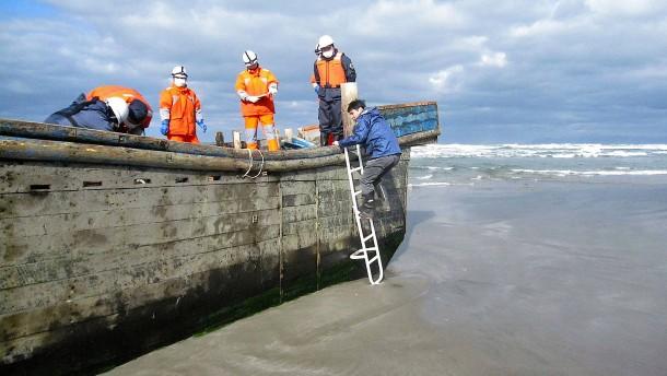 Zehn Leichen an Japans Küste angeschwemmt
