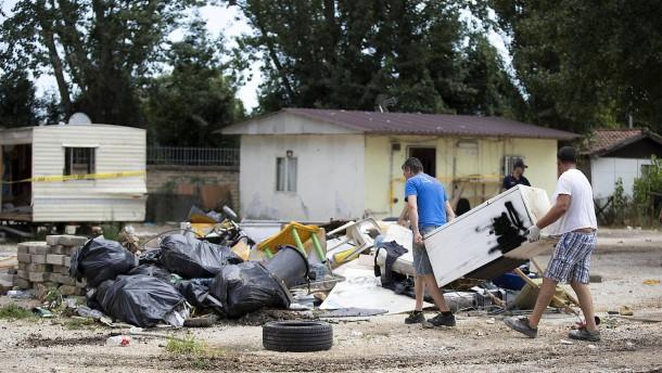 Italien: Rom lässt Roma-Siedlung räumen