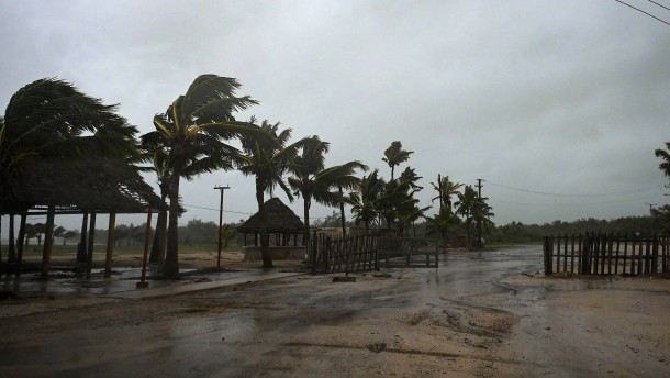 "Hurrikan ""Ida"" erreicht Kuba"