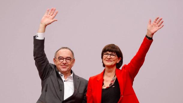 Auf einmal Fans der SPD