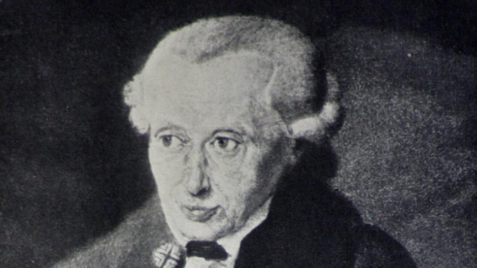 """Ein """"besonders schwerer Fall rigider Lebensfeindlichkeit"""": der Philosoph Immanuel Kant"""