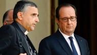 Hollande empfängt Vertreter der Religionsgemeinschaften
