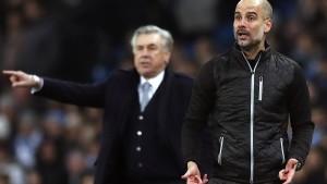 Guardiola siegt im Duell der früheren Bayern-Trainer