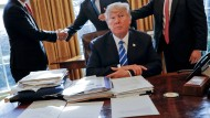 """America first"": Trump verhängt Strafzölle"