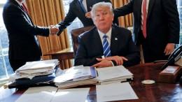 Trump verhängt hohe Strafzölle