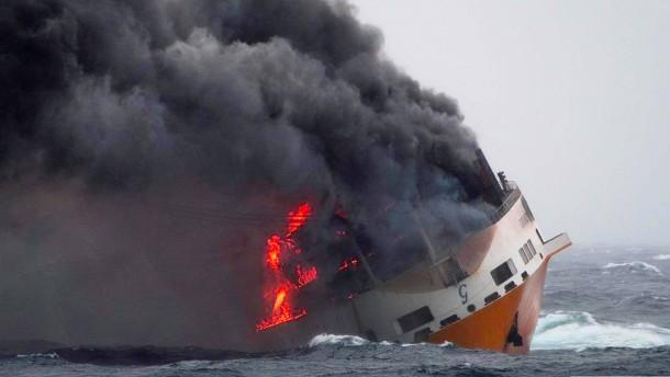 Frankreich bereitet sich auf eine Ölpest vor