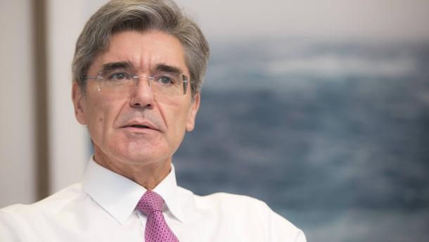 Was hat dieser Mann mit Siemens vor?