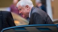 Der CSU Vorsitzende und Bundesinnenminister Horst Seehofer