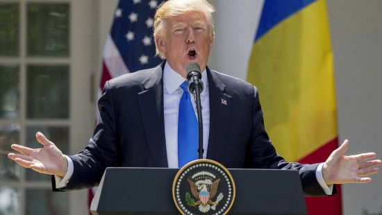 """Trump über Comey: """"Ich kenne diesen Mann kaum."""""""