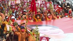 Druck auf Militärjunta in Myanmar wächst