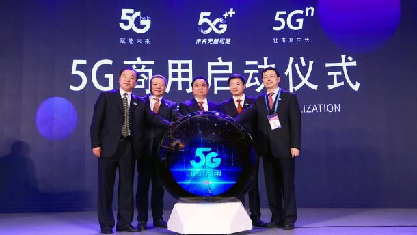 China startet den schnellen Mobilfunk