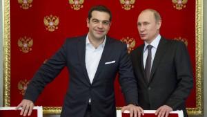 Russland bestreitet finanzielle Hilfen für Athen