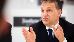 Orbán ist kein Vorbild