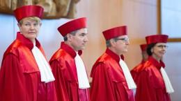 Bundesverfassungsrichter legen Nebeneinkünfte offen