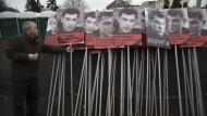 Gedenken an den ermordeten Regime-Kritiker Boris Nemzow