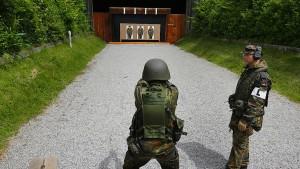 Soldaten beklagen unzureichende Schießausbildung