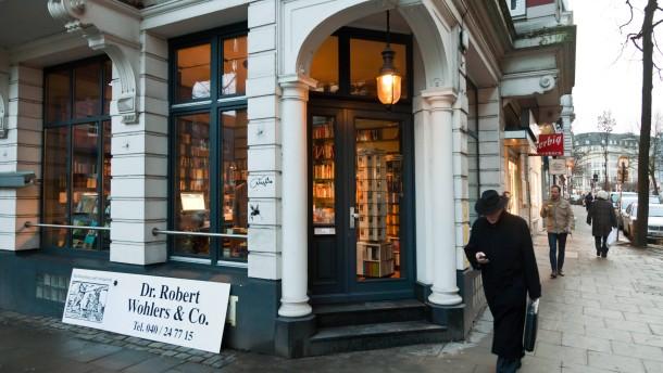 Dr. Robert Wohlers & Co - Die Buchhandlung ist im Hamburger Stadtteil St. Georg zum Symbol gegen Gentrifizierung geworden.