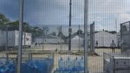 Das Flüchtlingslager auf der Insel Manus im Februar 2017.