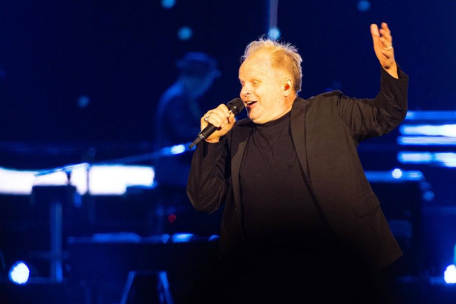 Grönemeyer sang mehr als zwei Stunden.