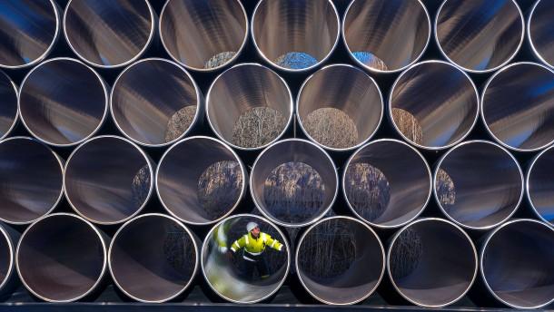 Eine Pipeline wird zum Politikum