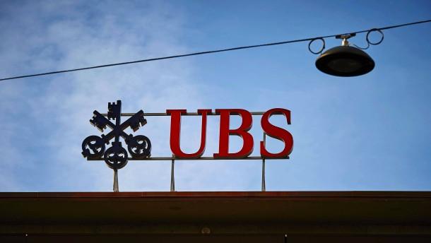 UBS verlangt Negativzinsen