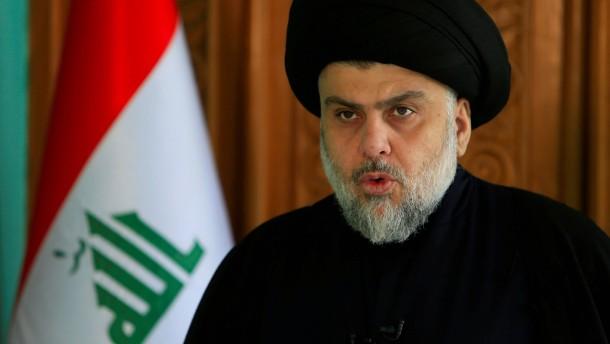 Wahlsieger Sadr wirbt für breites Bündnis