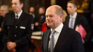 Scholz verteidigt Entscheidung für G-20-Gipfel in Hamburg