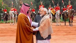 Saudischer Kronprinz sucht Freunde im Osten