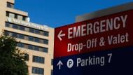 Das Krankenhaus in Dallas, Texas, in dem vor einigen Tagen bereits ein Mensch positiv auf Ebola getestet wurde