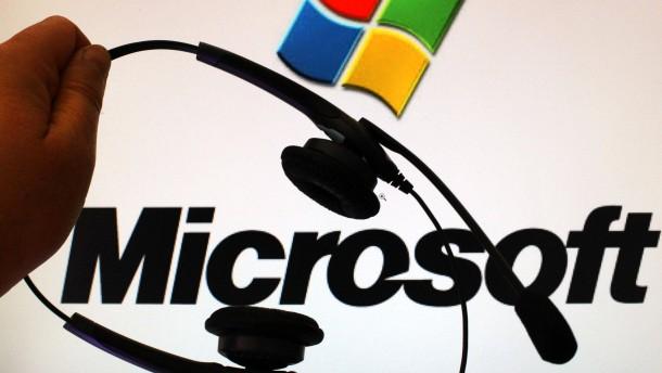 Für Microsoft darf man überall arbeiten