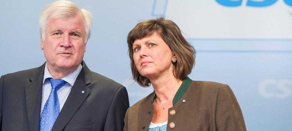 Bayern Ilse Aigner Avanciert Zur Superministerin Seehofers