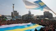 Was heißt Nationalismus in der heutigen Ukraine? Jahresfeier der Maidan-Revolution
