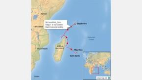 Infografik / Karte / Costa Allegra