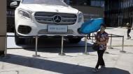 Mercedes ist in China beliebt.