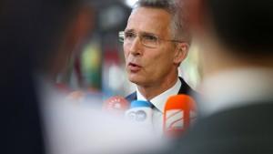 """Nato-Generalsekretär: """"Ich erwarte, dass Deutschland noch mehr tut"""""""